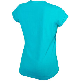 Endura One Clan Light T-Shirt Dames, pacific blue